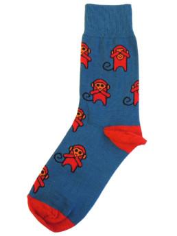 Носки с изображением обезьяны