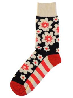 Носки с цветами