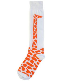 гольфы Жираф оранжевые