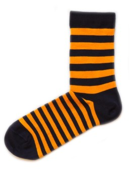 носки в жолтую полоску